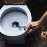 Прочистка унитаза Киев фото