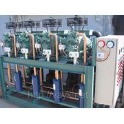 """Четырехкомпрессорный агрегат """"BAER"""" AMK-C-4-6G-40.2 фото"""