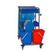 Bol Equipment Многофункциональная уборочная тележка с эконом отжимом фото
