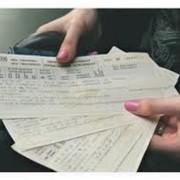 Продажа железнодорожных билетов фото
