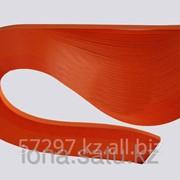 Бумага 130гр., 330мм, 150 полос ярко оранжевый фото