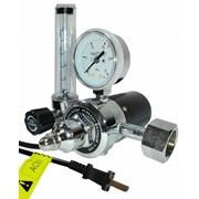 Регулятор давления (расхода) углекислотный У-30П (36В) баллонный с подогревателем корпуса и ротаметром Modern Welding фото