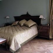 Текстильный дизайн и декорирование спальни. фото
