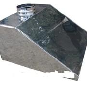 Зонт вентиляционный Зонт вентиляционный - вытяжные предназначены для очистки воздуха от жира, масла и водяного пара. Вентиляционные зонты устанавливаются в системе вытяжной вентиляции на предприятиях общественного питания над любым видом теплового обору фото