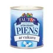Сгущенное молоко Tautas фото