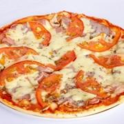 Пицца «Английский завтрак». фото