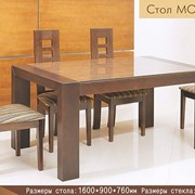 Обеденные столы Модерн из массива фото