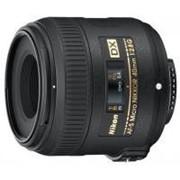 Объектив Nikon Nikkor AF-S 40mm f/2.8G micro DX (JAA638DA) фото
