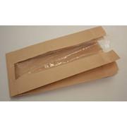 Пакет с полипропиленовым окошком для выпечки 180х95х350 фото