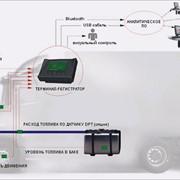 Система контроля расхода топлива и спутникового мониторинга транспорта (СКРТ) фото