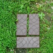 Форма для плитки тротуарной Кирпич Чешуя фото