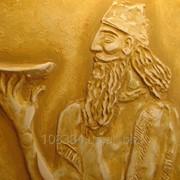 Лепка на стене из гипса киев Древний мир фрагмент фото