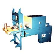 Упаковочная термоусадочная упаковочная машина МП130П для упаковки консервных жестяных крышек или подобной продукции фото