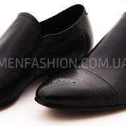Туфли мужские VITTO ROSSI чёрного цвета 211 фото