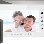 Комплект видеодомофона Qualvision QV-IDS4734 white фото