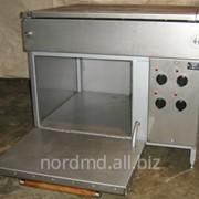 Плита электрическая промышленная фото