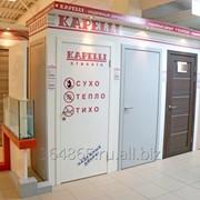 Установка композитных дверей в Москве. Kapelli фото