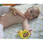 Детский массаж на дому, массаж для грудничков и школьников фото