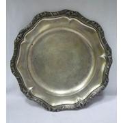 7499 -Тарелка. Серебро 750 пр. фото