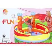 Игровой центр детский Замок с шарами фото