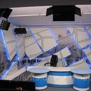 Дизайн телестудий Киев Декорация телестудии фото