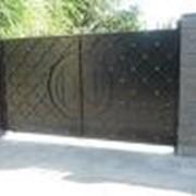 Ворота, ворота металлические фото