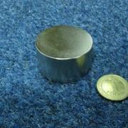 Неодимовый диск 45х25 фото