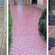 Декоративный бетон. Пресс-бетон. Печатный бетон. Промышленные бетонные полы. фото