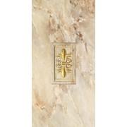 Керамогранит Inserto Tivoli Gold Piola Декор 31.6x63.2 фото