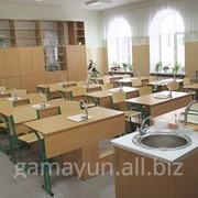 Кабинет химии на 20 учащихся столы с мойкой фото