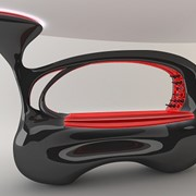 Дизайн,изготовление барных стоек из CORIAN фото