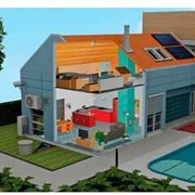 Автоматизация зданий и сооружений, система умный дом фото