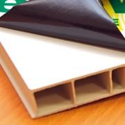 "Защитная самоклеющаяся пленка ""Solly"" для подоконников и ПВХ пластика фото"