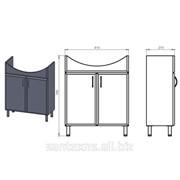 Мебель для ванной Stia 65 фото