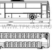 Автобус пассажирский НЕФАЗ-52996 фото