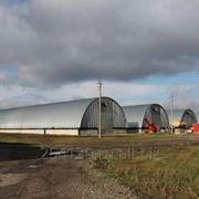 Зернохранилища зерносклады арочные быстровозводимые бескаркасные фото