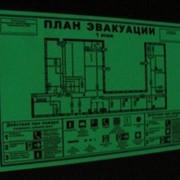 План эвакуации фотолюминесцентный ГОСТ 12.2.143-2009 фото