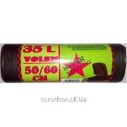 Мешки для мусора Irina Star 35L, 50pcs 50/60cm фото