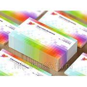 Изготовление визиток (тираж 50) цветность 1+0 фото