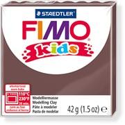 Fimo Kids 42 гр. цвет Коричневый фото