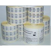 Печать этикеток 58*30 термопечать фото