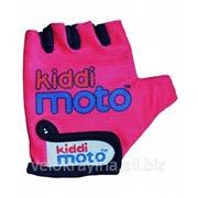 Перчатки детские Kiddi Moto неоновые розовые CLO-86-50 фото