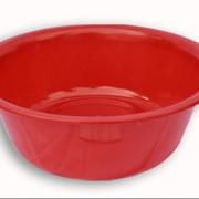 Таз пластмассовый красный фото