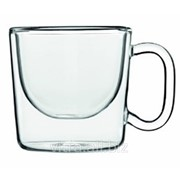 Чашка кофейная с двойными стенками Luigi Bormioli Thermic Glass (10662/01) фото