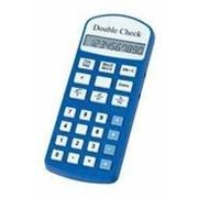 DoubleCheck Говорящий карманный калькулятор на русском языке, батарейное питание арт. 4031 фото