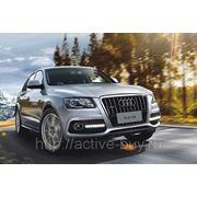 Штатные дневные ходовые огни DRL Audi Q5 фото