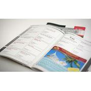 Печать каталогов, брошюр, журналов, книг, буклетов фото