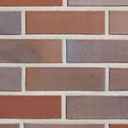 Клинкерный кирпич АВС-Кlinkergruppe 0554 Nordhorn bl?ulich-bunt фото