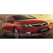 Штатные дневные ходовые огни DRL Honda Civic 2011+ фото