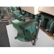 Тиски слесарные 125 мм с поворотной плитой ГОСТ 4045-75 фото